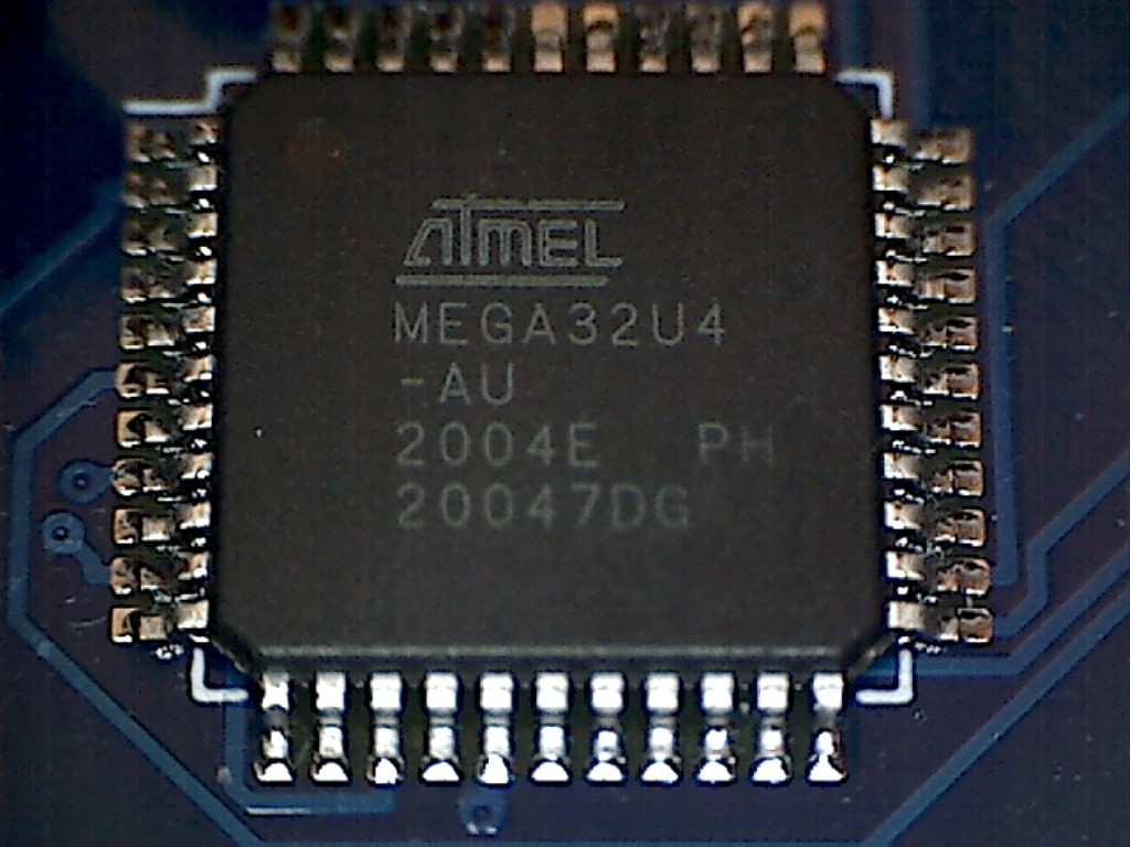 Figure 2: The Faunchpad's microcontroller (view full size)